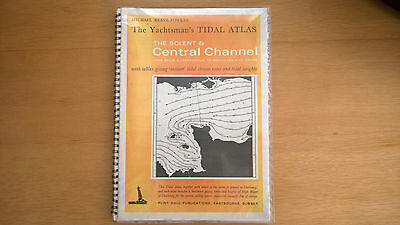 Tidal Stream Atlas Central English Channel Reeve Fowkes yachtsmans