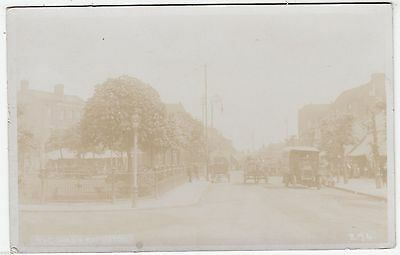 EDMONTON - The Green - by A Hodge / Enfield Town - c1900s era Real Photo