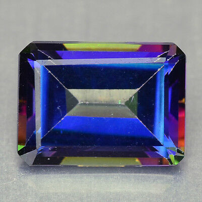 1.86 Cts Sparkling Rare Top Quality Multi Color Natural Mystic Topaz