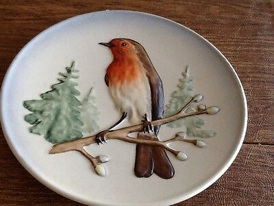 Goebel Robin Wildlife Wall Plate Series Limited Production