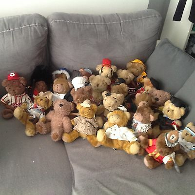 Lot De 23 Ours Teddy Bears Collection