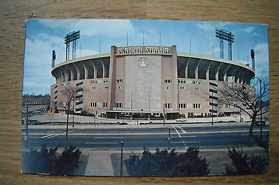 Memorial Stadium Baltimore Home of the Orioles and Colts Plastichrome P14965