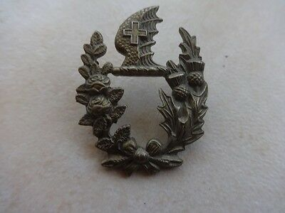 LMS Nickel Police Collar Badge