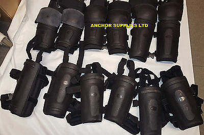 Police Lower arm & Elbow Protection Armour & Shin Protection Paintball Job Lot