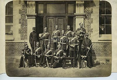 British Army Soldiers & Rifles c1880s - Coldstream Guards?