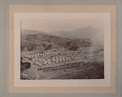 Photo Of Army Camp At The Khyber Pass c1920 India / Pakistan - Holmes