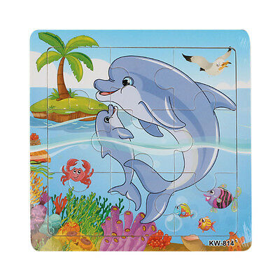 Wooden Whale Jigsaw Toys For Kids Education And Learning Puzzles Toys