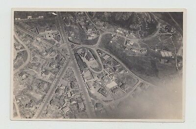 China Old Photo In Postcard Size Tsingtau From Airplane !!