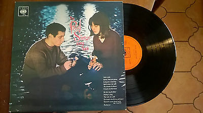 THE PAUL SIMON SONG BOOK + BOOKLET excellent+ STEREO 1965 UK VINYL LP