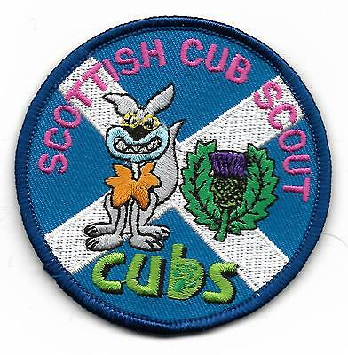 Scottish Cub Scout Cubs Scout Badge (Scan 535)