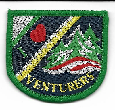 I Love Venturers Canadian Scout Badge (Scan 539)
