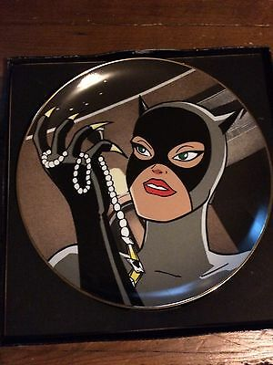 Dc Comics, WB, Limted Edition Catwoman And The Claw. Original Box, Plate As New