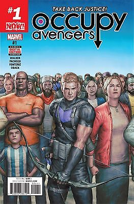 OCCUPY AVENGERS #1 NOW, New, First Print, Marvel Comics (2016)