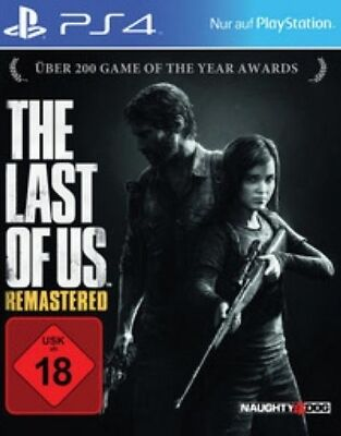 Playstation 4 The Last of Us Remastered Endzeit Thriller NEU