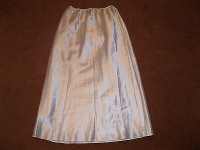 Vintage White Elasticated Underskirt by ssshhh Intimates.  Size 12
