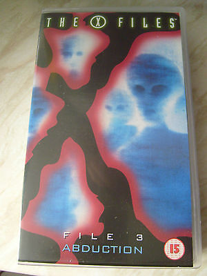 The X Files: FILES 1 - 12 VHS PAL R2 video tapes Excell condition. BULK LOT