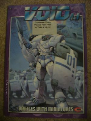 VOID BY i-KORE ORIGINAL 'DELUXE FINISH' RULEBOOK  2000-2001 RARE