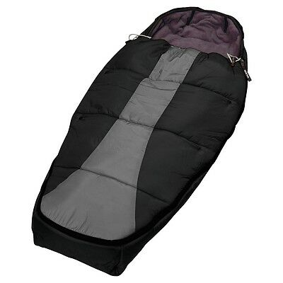 Phil & Teds Snuggle & Snooze Sleeping Bag (Black Charcoal) Cosytoes Footmuff