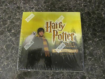 new sealed box Harry Potter and the sorcerer's stone movie trading cards