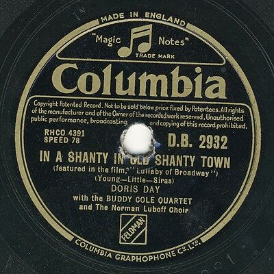 Doris Day: In a shanty in old shanty town / I love the way you say goodnight