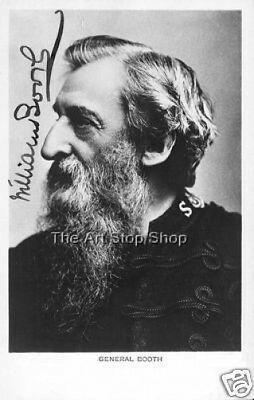 William Booth autograph print