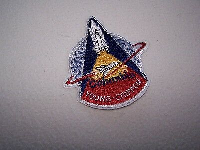 NASA Space Shuttle COLUMBIA Mission Patch – Young and Crippen - Nice