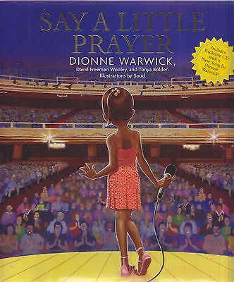 Signed DIONNE WARWICK  ... SAY A LITTLE PRAYER book w/ CD Signed !