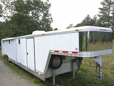 Featherlite 4941 40' 48' Gooseneck Aluminum Enclosed Race Car Trailer Toy Hauler
