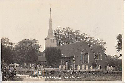 Brentwood  Shenfield St Mary The Virgin Church  + Graveyard Rp
