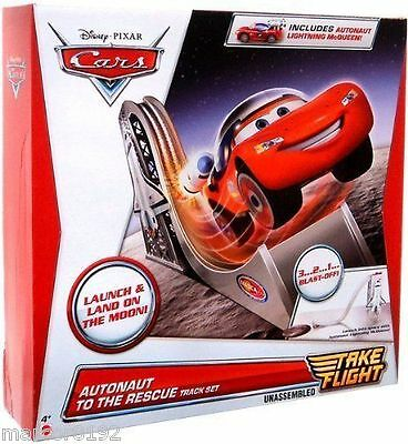 Disney Cars Lightning McQueen Autonaut to the Rescue Track Set Take Flight New