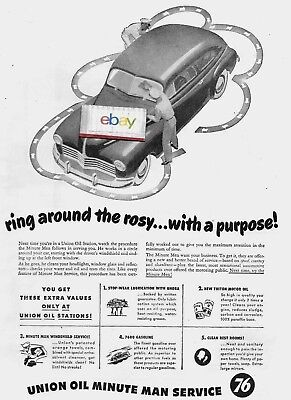 Union Oil Co Of California Ring Around The Rosy With A Purpose 1947 5 Steps Ad