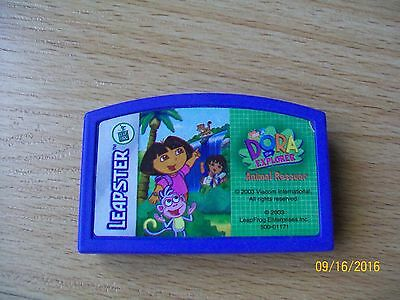 leapster game cartridge DORA the EXPLORER ANIMAL RESCUER