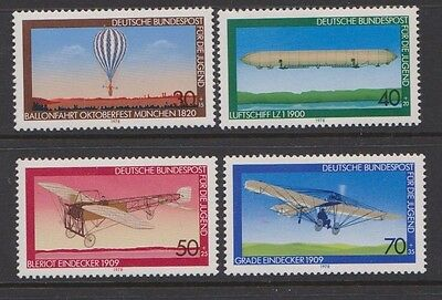 Set of flight - aircraft stamps MNH from germany - attractive