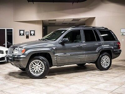 2004 Jeep Grand Cherokee Limited Sport Utility 4-Door 2004 Jeep Grand Cherokee Limited 4X4 Quick Order PKG 4.7L V8 Engine Loaded