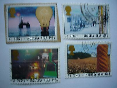Industry Year fine used set from 1986