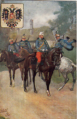 Tuck Soldiers Of The World  12Th Austro Hungarian Hussars