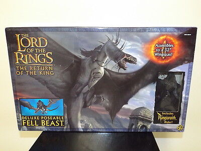 New Lord of the Rings Return of the King - DELUXE POSEABLE FELL BEAST - Toy Biz!