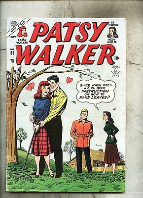 Patsy Walker #55-1954 fn/vg  Marvel / w/ paper doll page