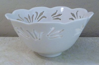 Lenox Reticulated Pierced Special Bowl Made In Usa