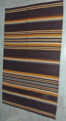 Traditional Raanu Wall Hanging - Brown And Yellow - Made In Finland