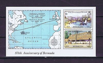D2656 BERMUDA 1984 The 375th Anniversary of First Settlement MS MNH