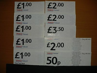 Tesco Clubcard Vouchers £15 (Worth Up To £60 In Value)