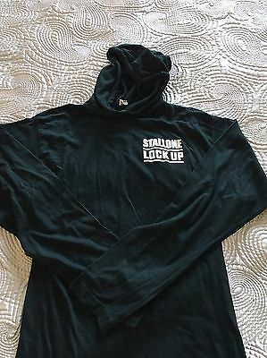 Ultra Rare Sylvester Stallone Promotional Hoodie For Lock Up Movie