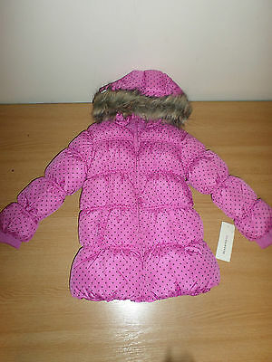 Reserved Kids Pink Padded Coat Girls' Age 3-4 Years Box3120 D