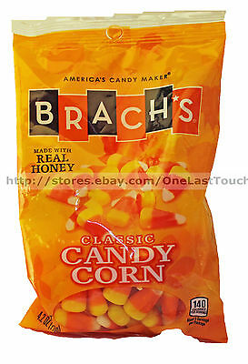 BRACH'S 4.2oz Bag CLASSIC Real Honey CANDY CORN Candies HALLOWEEN/FALL Exp.6/17+