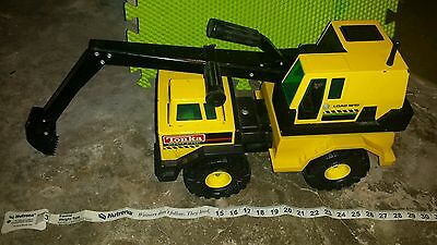 VINTAGE TONKA MIGHTY DIESEL 3931-A TRUCK MOUNTED BACKHOE Pressed Steel 27 inches