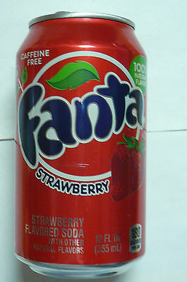 1  Fanta  Strawberry   Dose   Leer   Aus  Dehn  Usa