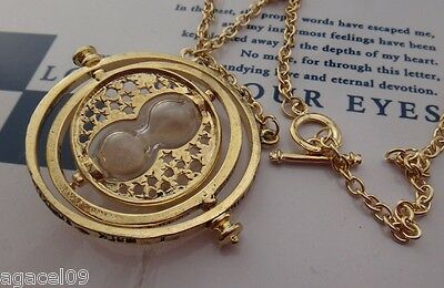 Harry Potter Hermione Granger Time Turner Necklace Fantasy Magic Cool Gift New