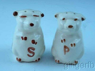 Shawnee Pottery Pig Salt Pepper Shakers Free Shipping