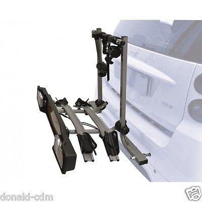 Bicycle Rack Rear Bike Car Mount For Smart, Fortwo,until The 2013,approved